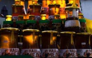 Ilustracija: Med u SPOS -ovoj tegli