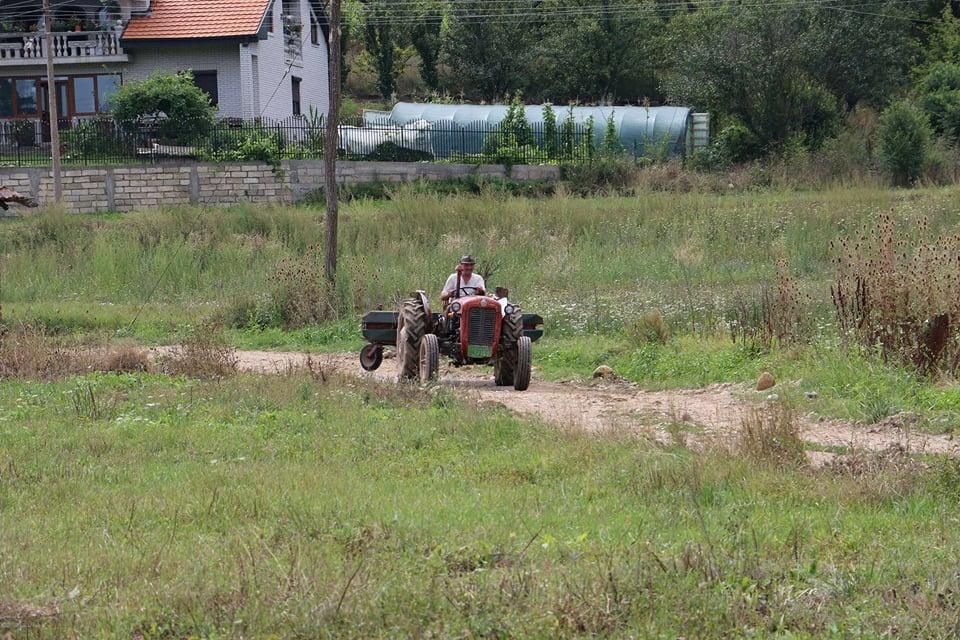 Ilustracija: traktor u polju, foto: Domaćinska kuća