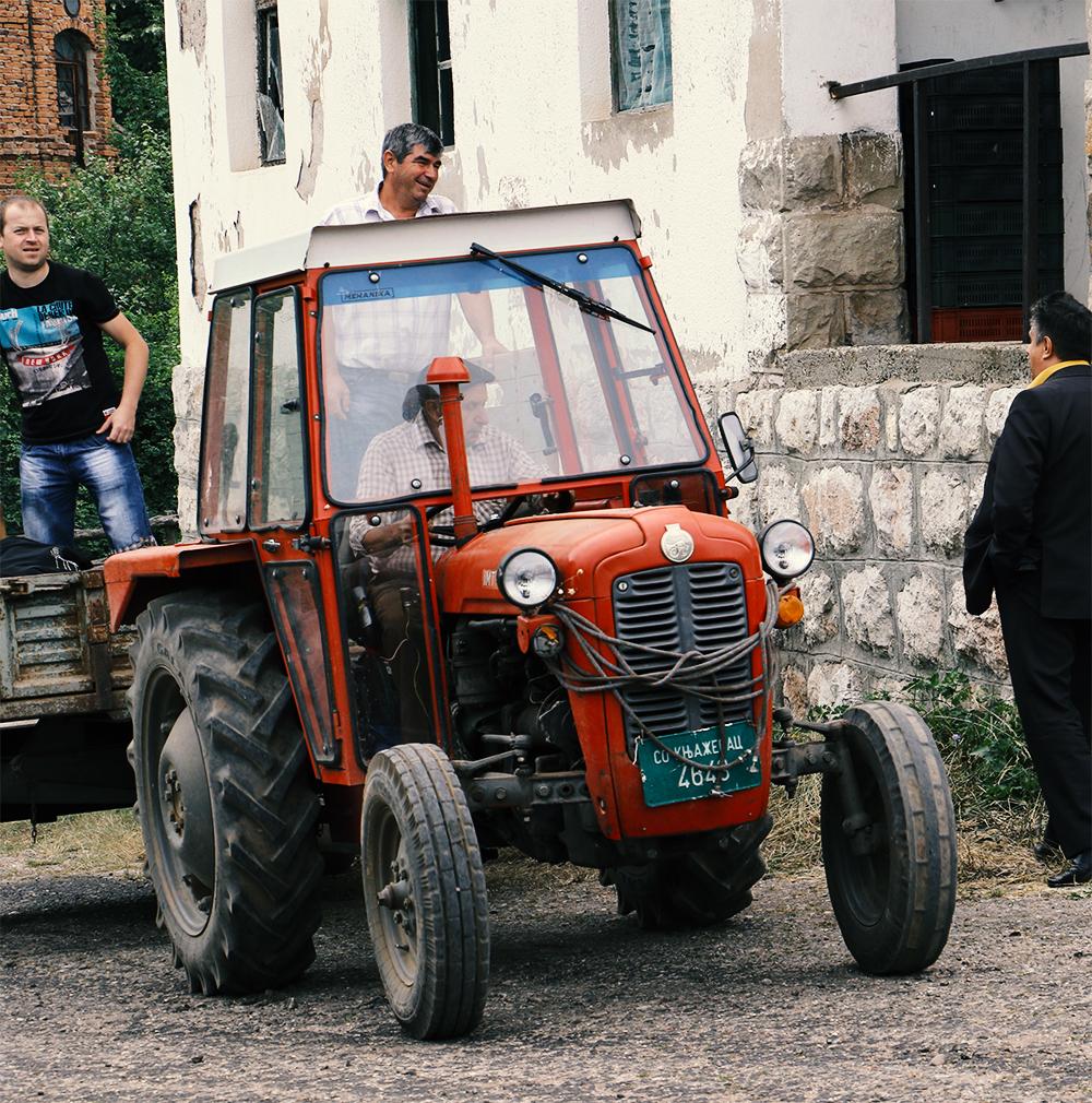 Poljoprivrednici opštine Knjaževac, foto: M.M. / Domaćinska kuća