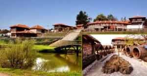 Ilustracija; Etno selo Babina reka