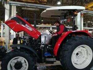 Ilustracija iz fabrike traktora u Turskoj