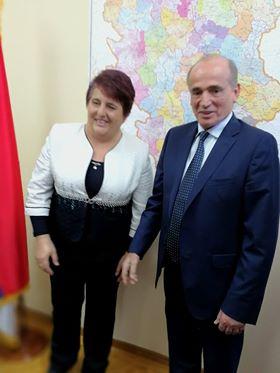 Milan Krkobabić i Dragica Ristić