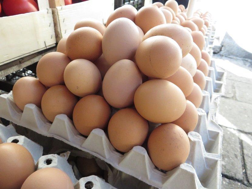 Ilustracija: jaja na pijaci, foto: Domaćinska kuća