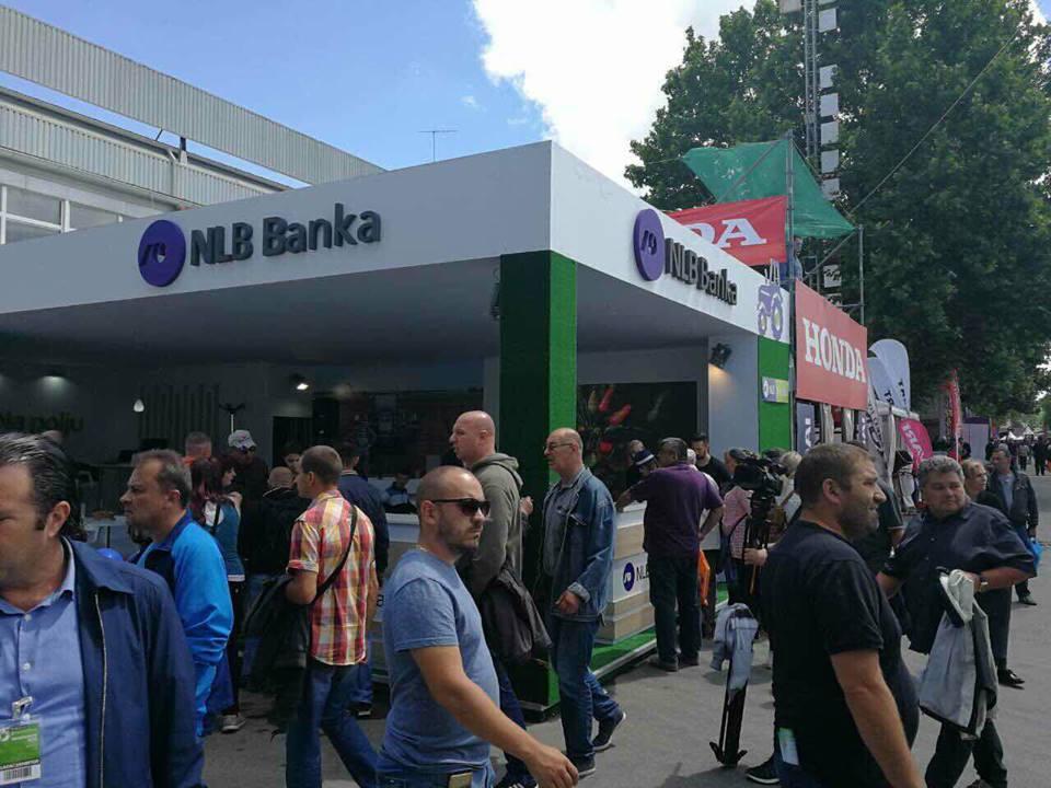 Ilustracija: Štand NLB Banke