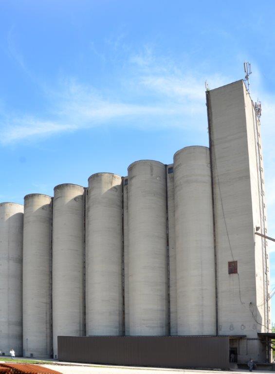 Ilustracija: mlin i silos Žitoprodukta, Foto: G.Đ.