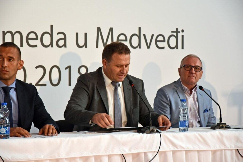 Ilustracija: Nebojša Arsić, predsednik opštine Medveđa