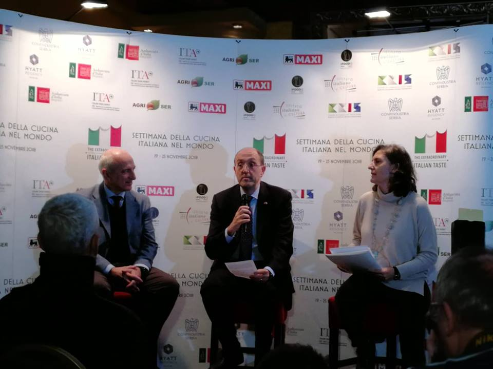 Ilustracija: Predstavnici Italije na konferenciji, foto: Domaćinska kuća