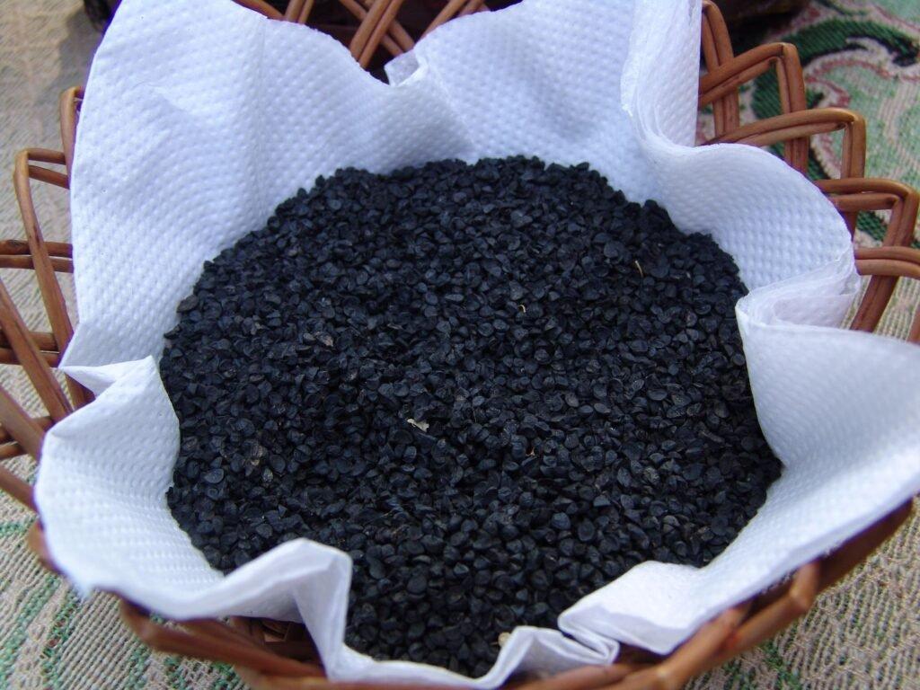 Ilustracija, seme crnog luka, Superior Velika Plana