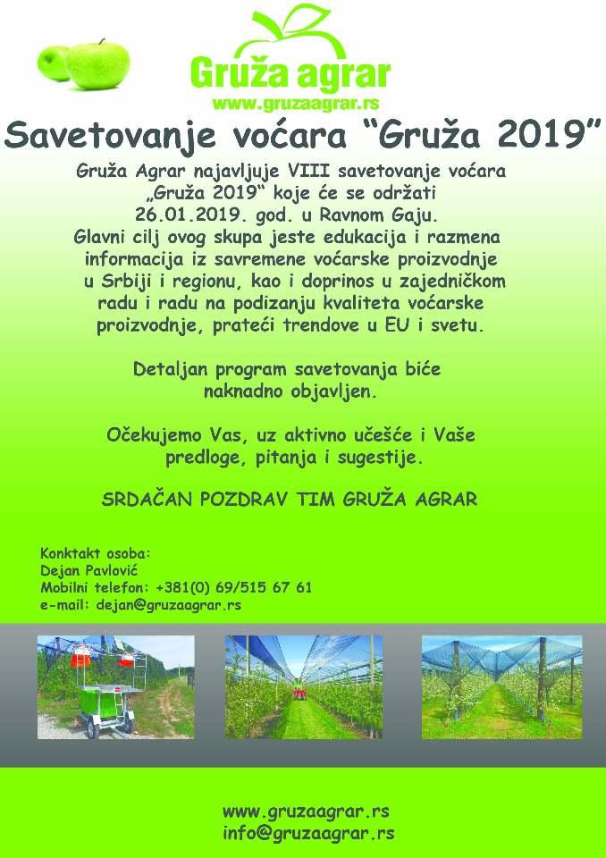 Ilustracija: Savetovanje u Gruži, foto: Gruža Agrar