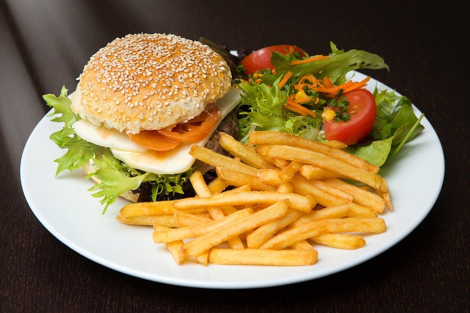 Ilustracija: brza hrana, foto: pixabay