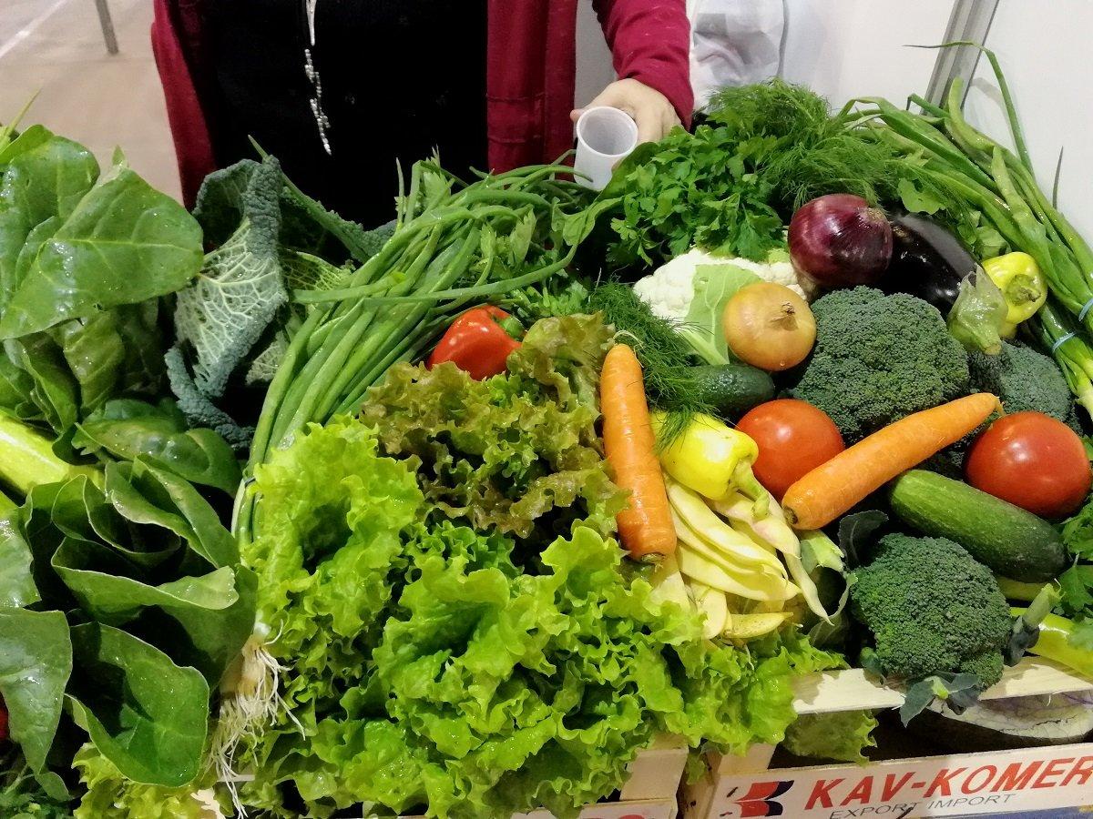 Ilustracija: organska hrana, foto: Svetlana Kovačević, Domaćinska kuća