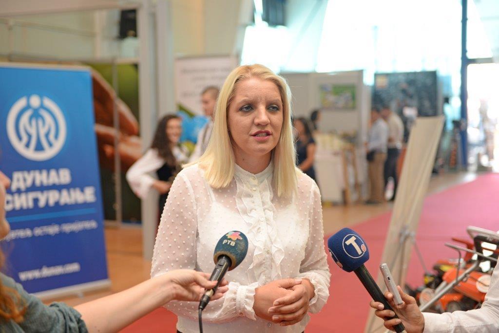 Jelena Obradiović, zamenica predsenika opštine Knić, foto: Dunav osiguranje