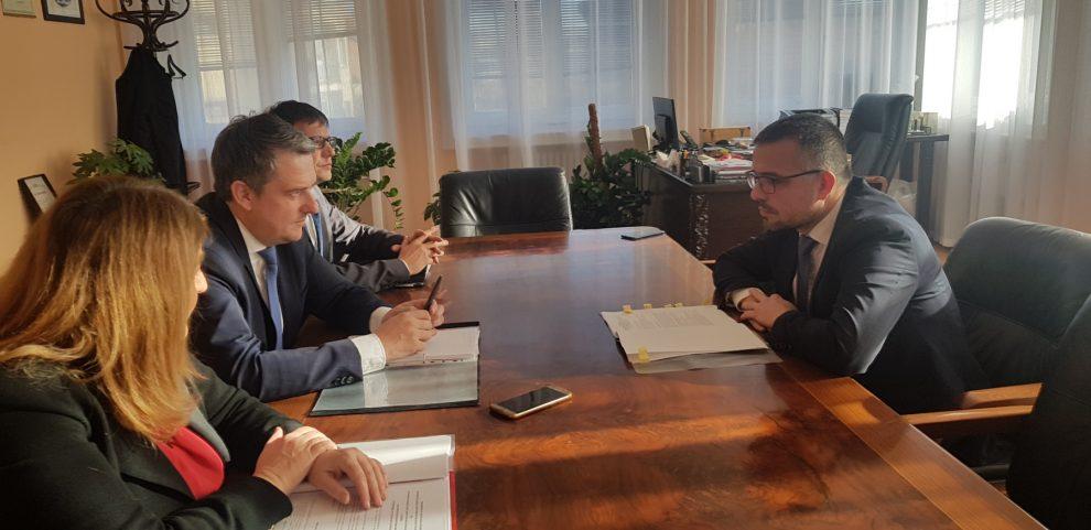Ilustarcija:Sastanak ministra Nedimovića i Damjan Stanonik, foto: Ministarstvo poljoprivrede
