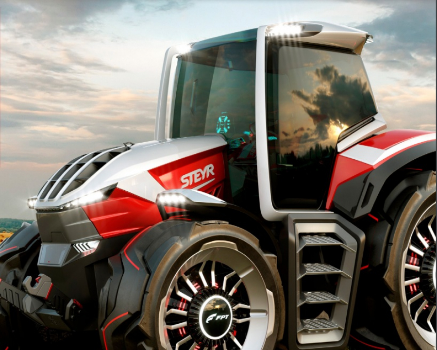 Ilustracija: Steyr traktor, FOTO: Agrobiznis magazin
