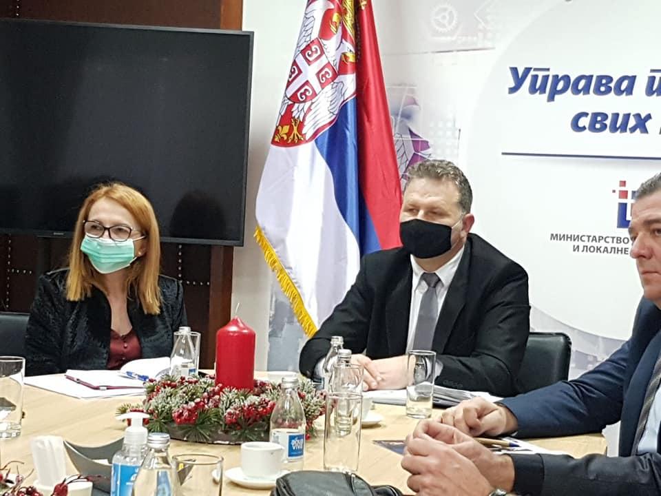 Ilustracija: Sastanak sa Marijom Obradović, foto: Opština Medveđa