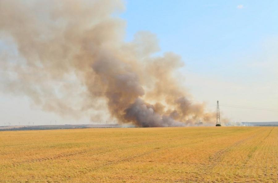 Ilustracija: paljenje biljnih ostataka, foto: pixabay
