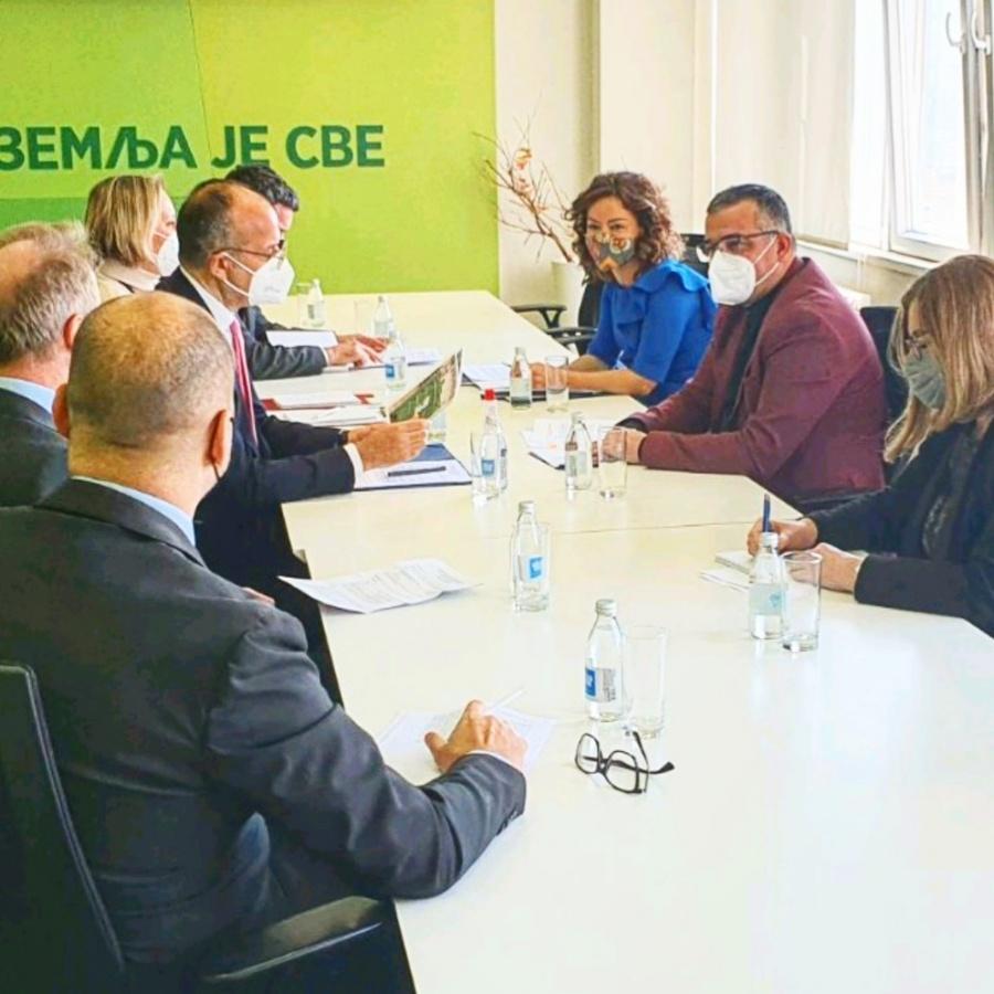 Ilustracija: Sa stastanka, foto: Ministarstvo poljoprivrede