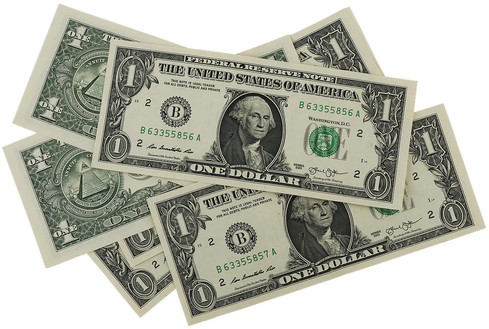 Ilustracija: dolar, foto: pixabay