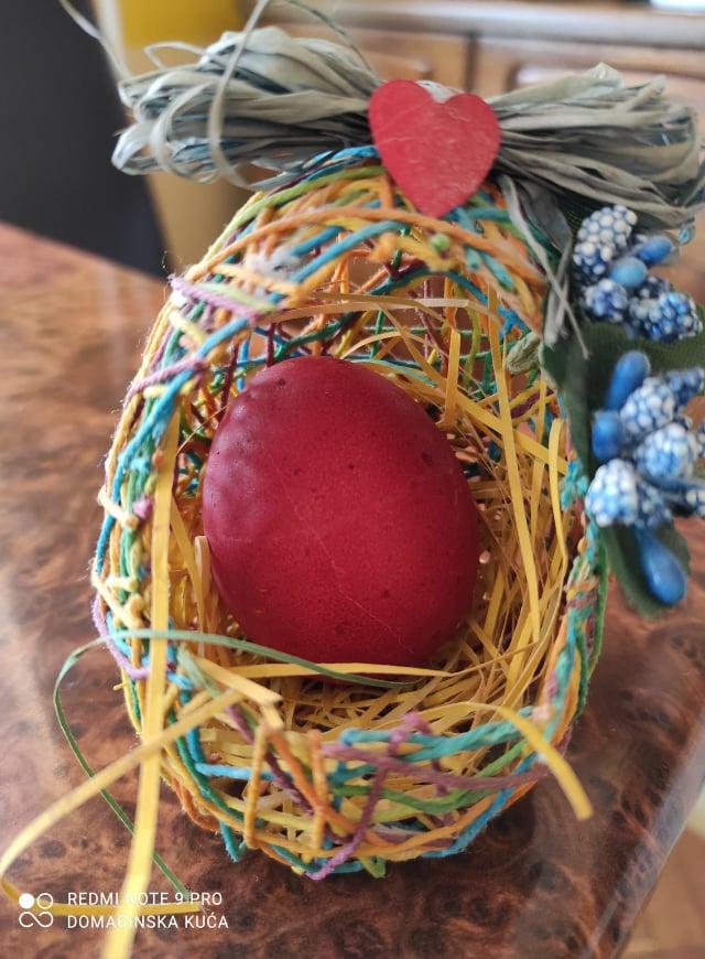 Ilustracija: jaje čuvarkuća, foto: Svetlana Kovačević