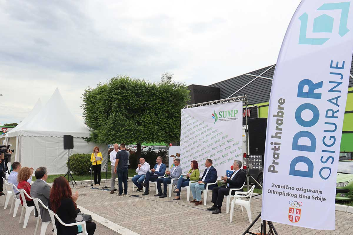 Ilustracija: Sa današnjeg događaja: ,Predstavljanje mobilne aplikacije DDOR TERRA za bržu prijavu štete u poljoprivredi
