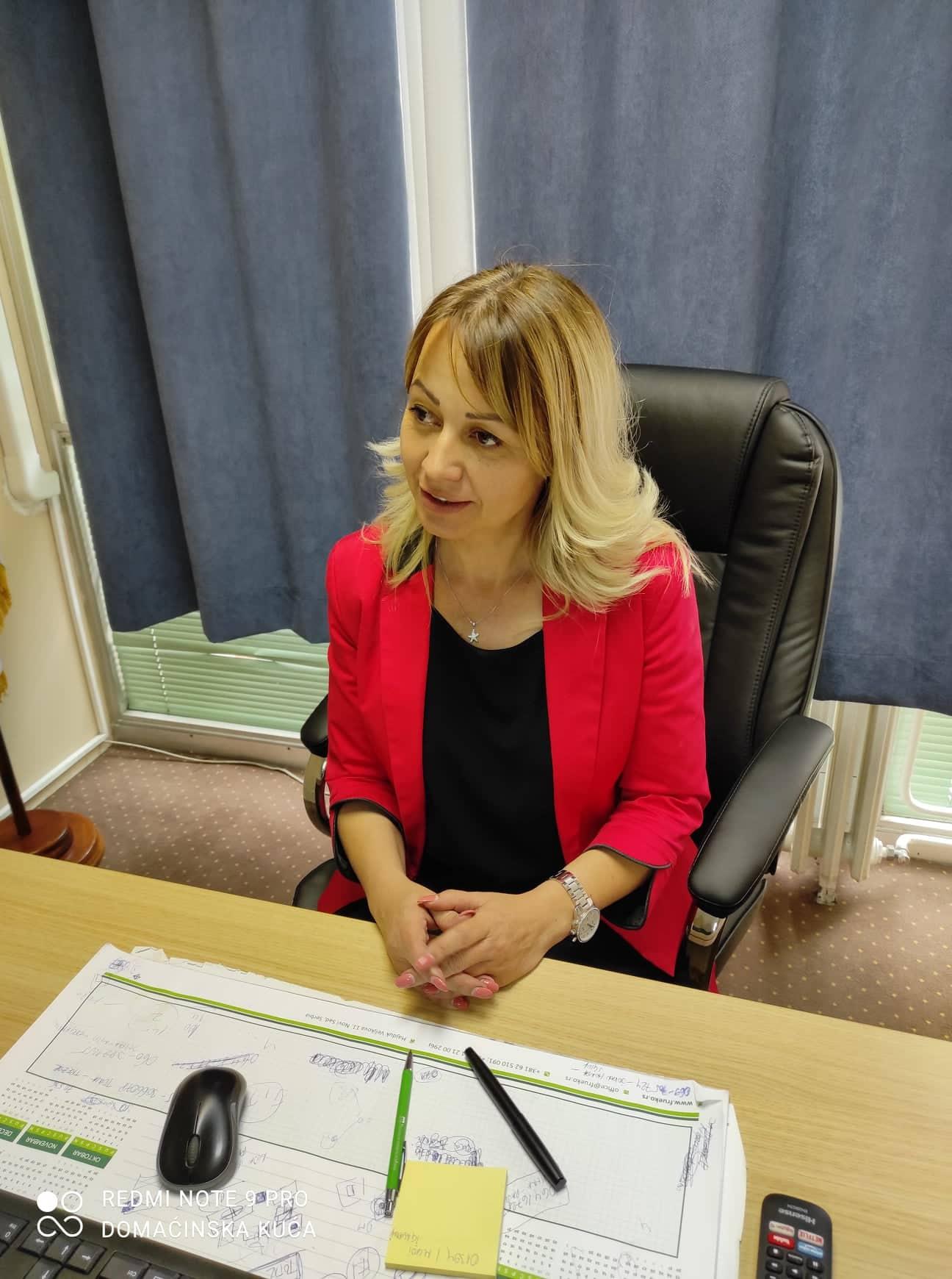 Ilustracija: Biljana Petrović, direktorka Uprave za agrarna plaćanja