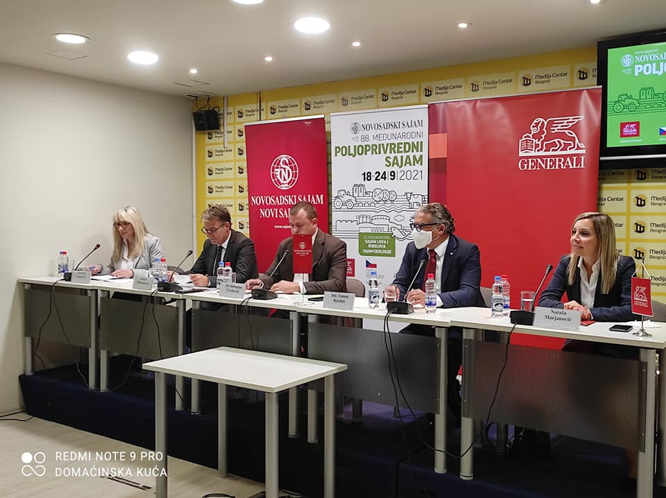 Ilustracija: Sa konferencije za novinare, foto: Svetlana Kovačević