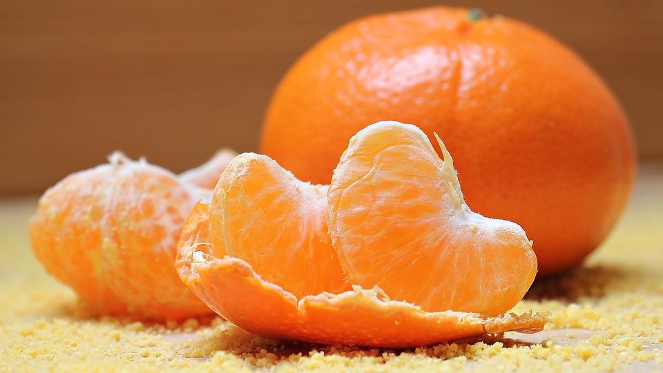 Ilustracija: mandarine, foto: pixabay