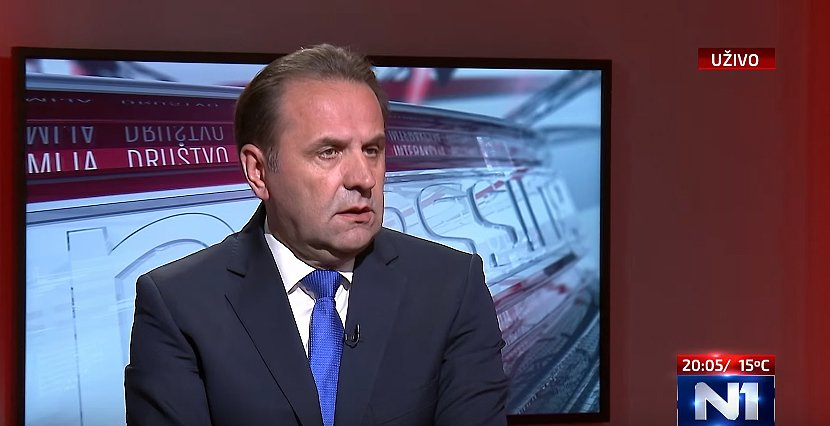 Rasim Ljajić, foto / Printscreen / N1
